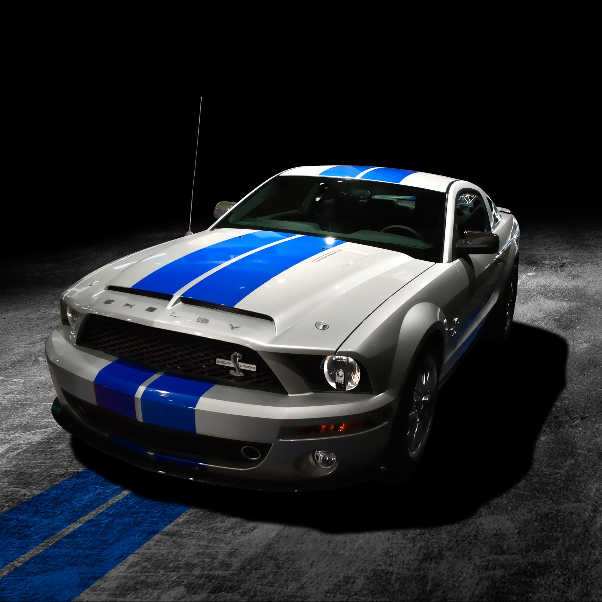 mustang shelby gt500kr - ipad wallpaper for iphone x, 8, 7, 6 - free