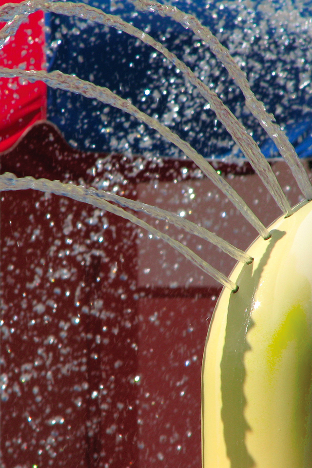 Abstract 3 Wallpapers Water Jet