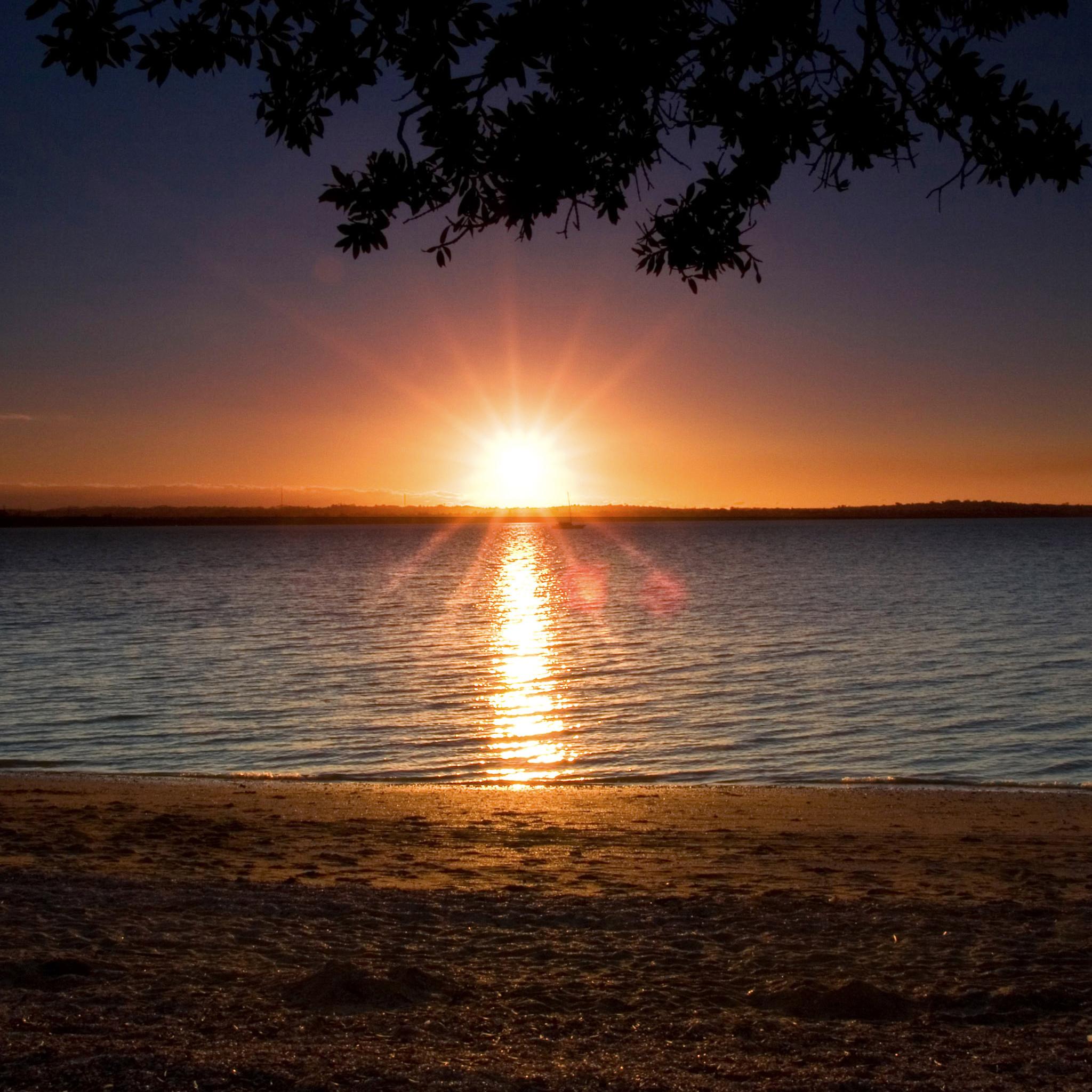 Beach Sunset 3W iPad Beach Sunset   iPad