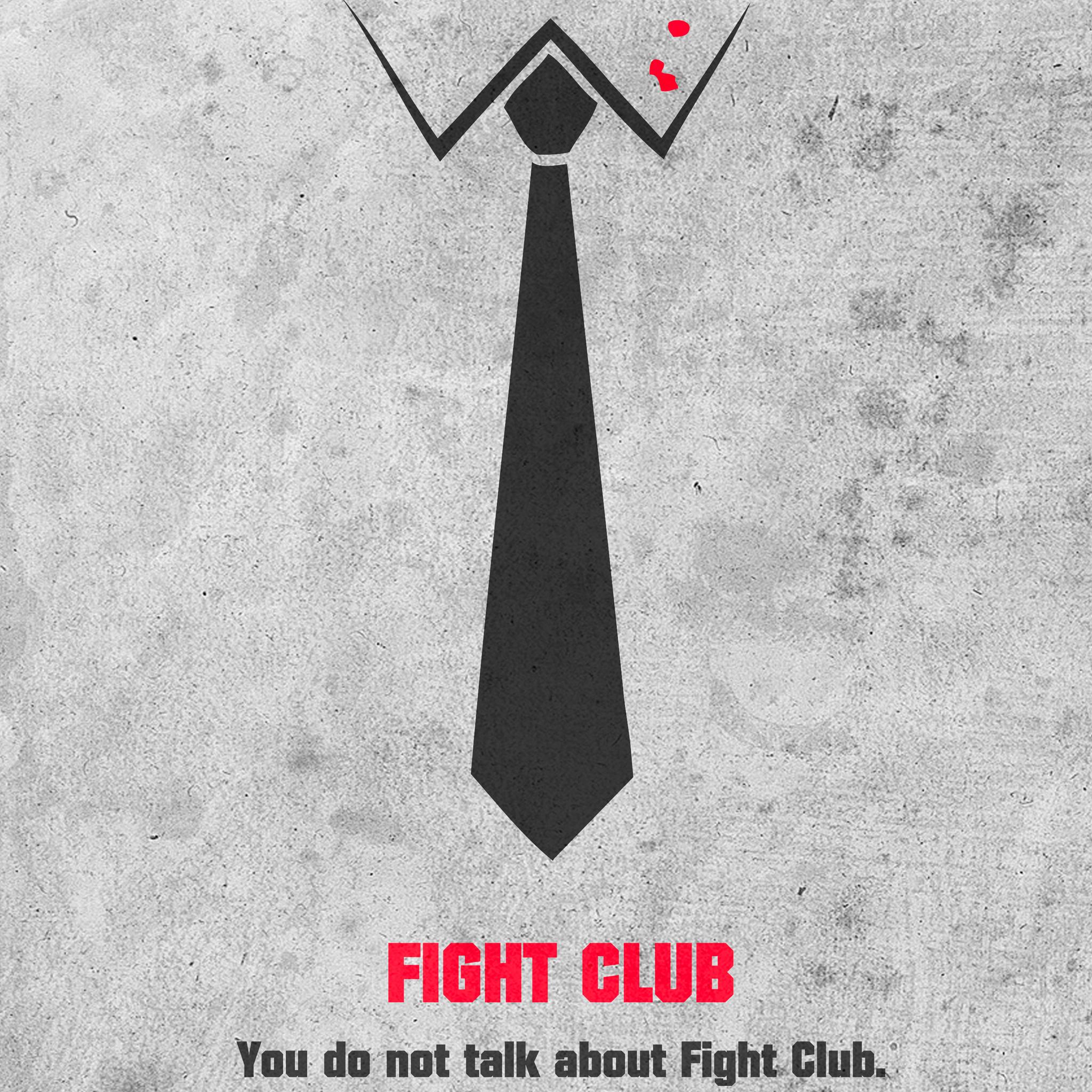 FightClub 3W iPad Fight Club by vbabic   iPad