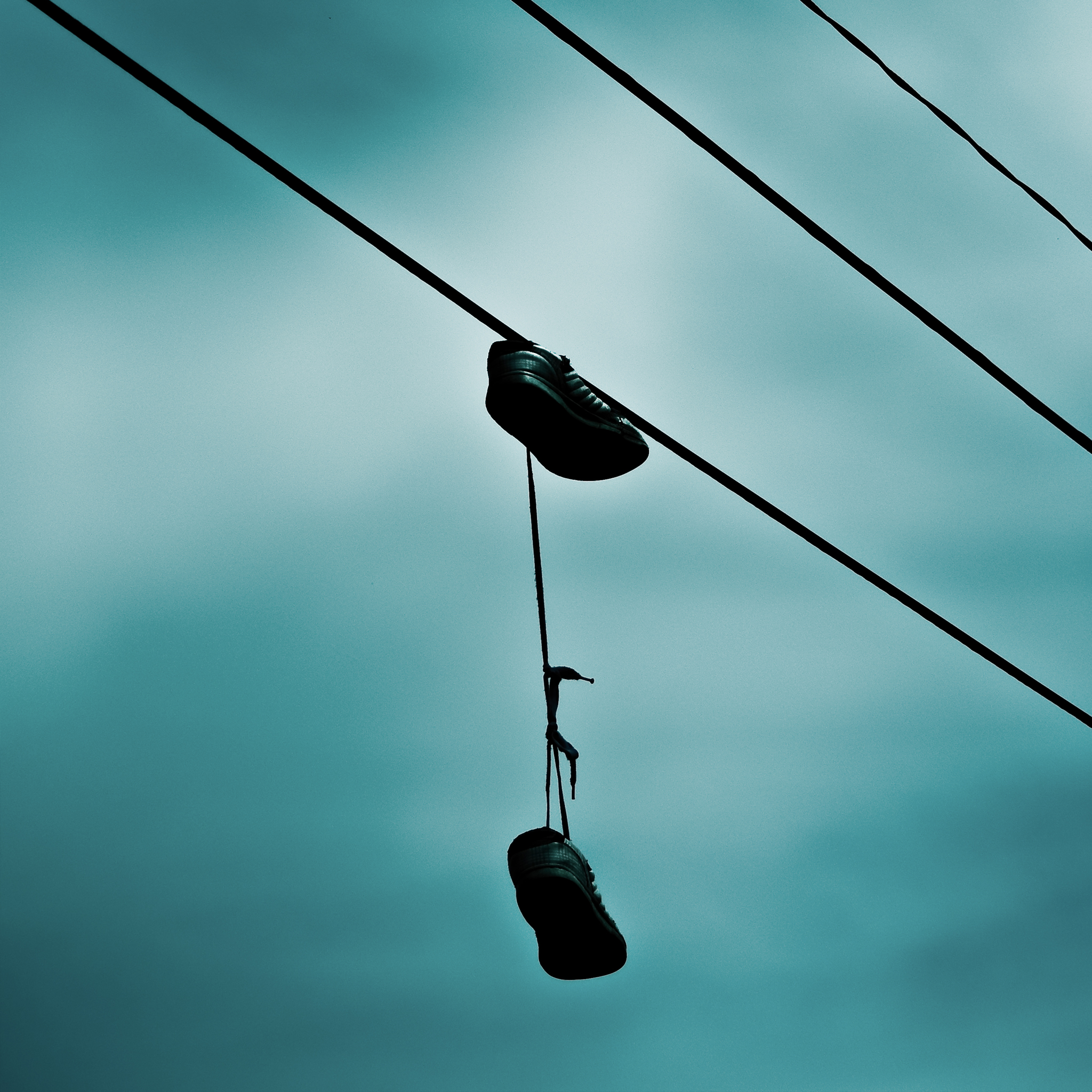 Shoes On Wire Ipad Wallpaper For Iphone 11 Pro Max X