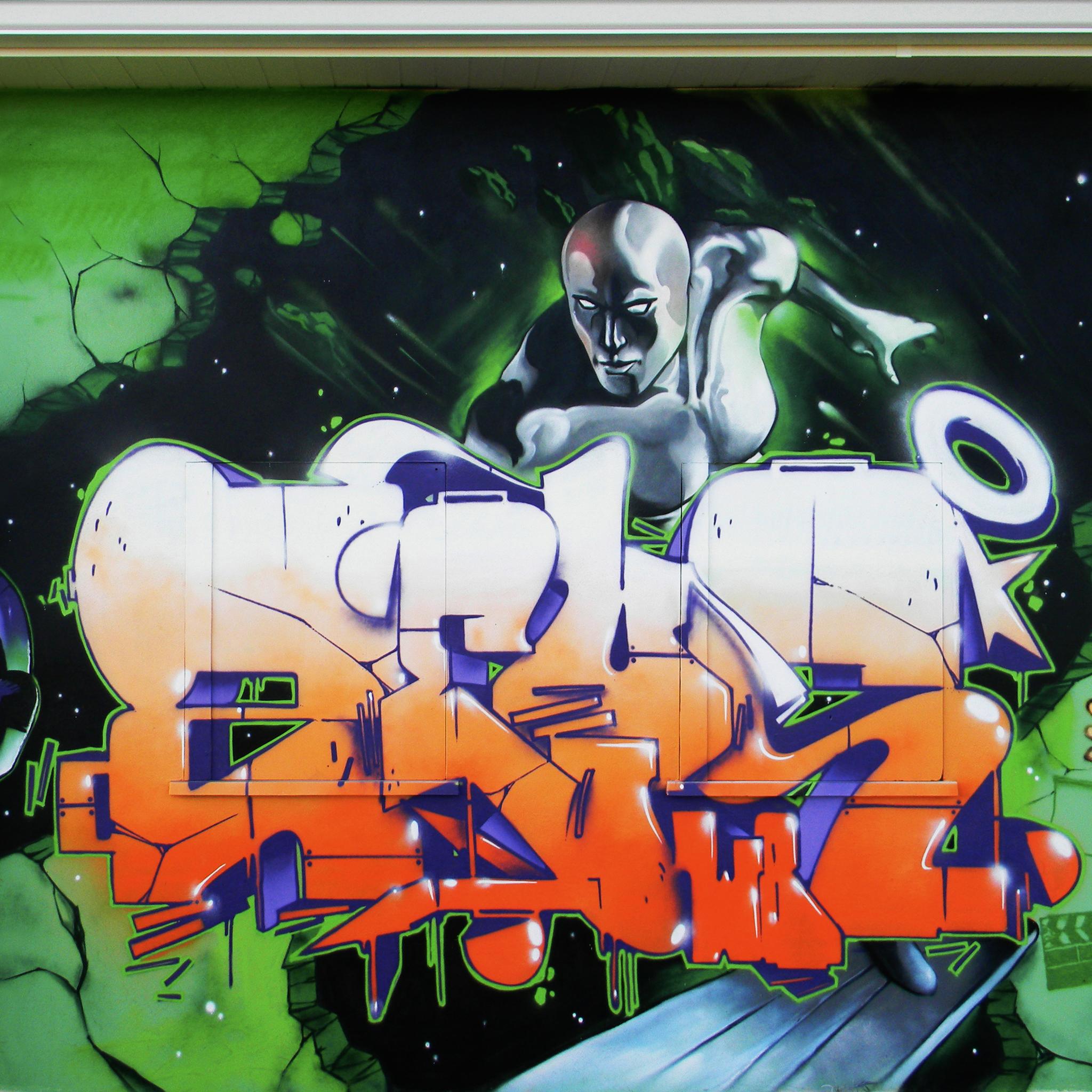 Wild Boy Graffiti 02 3W iPad Wild Boyz Graffiti #1   iPad
