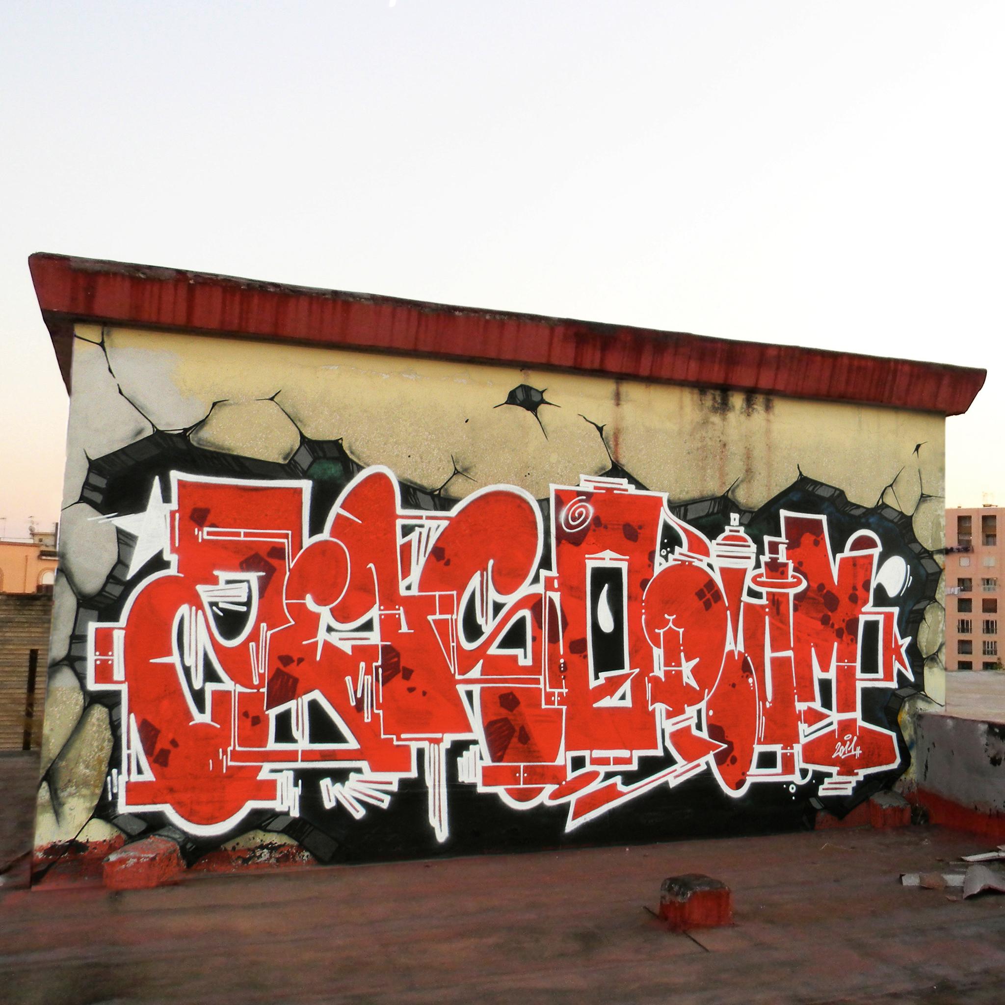 Wild Boy Graffiti 3W iPad Wild Boyz Graffiti #3   iPad
