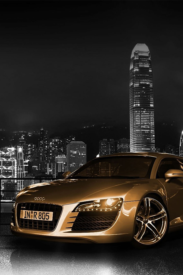 Audi R8 Wallpaper for iPhone X, 8, 7, 6 - Free Download on