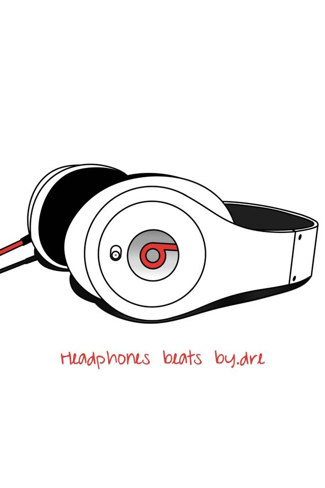 Headphones Beats By.Dre 3W Headphones Beats By.Dre