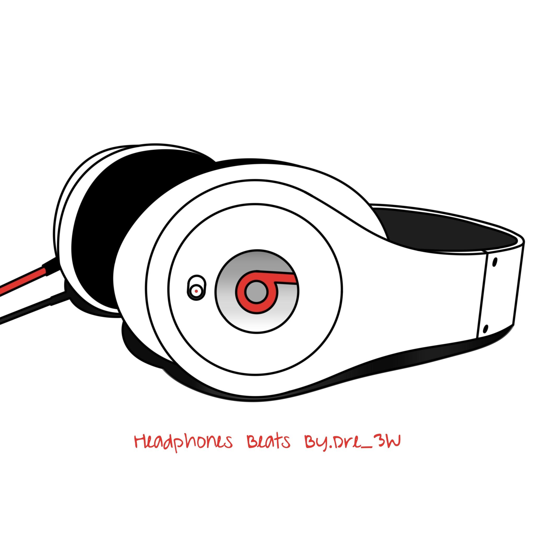Headphones Beats By.Dre 3W iPad Headphones Beats By.Dre   iPad