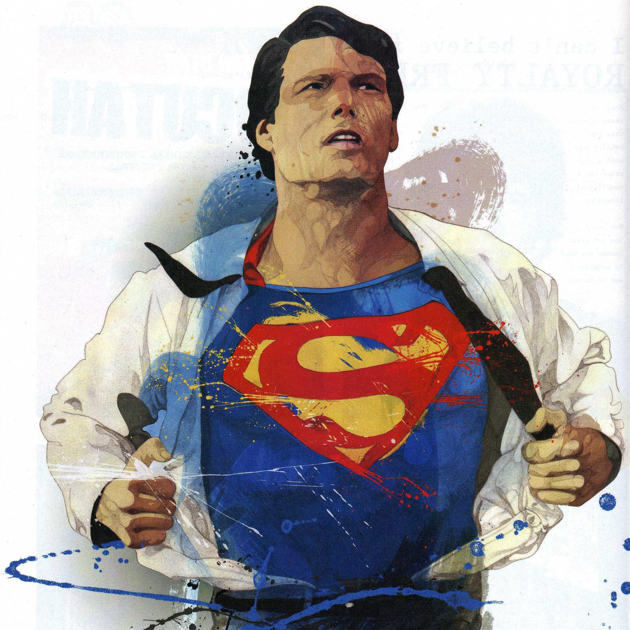Reeve as Superman 3Wallpapers iPad Reeve as Superman   iPad