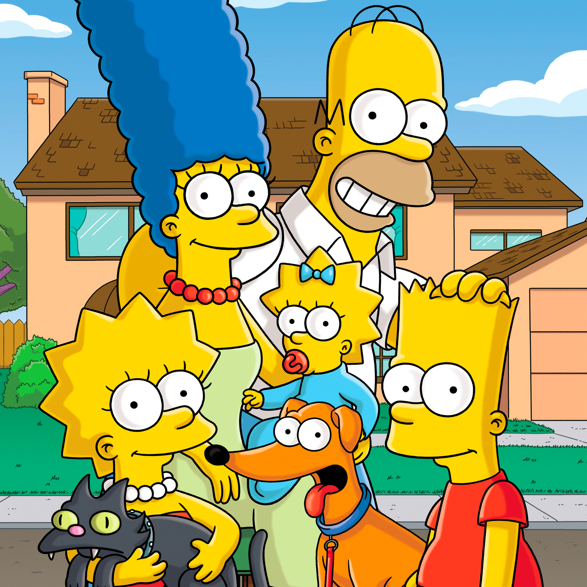 Simpsons 3 Wallpapers iPad Simpsons   iPad