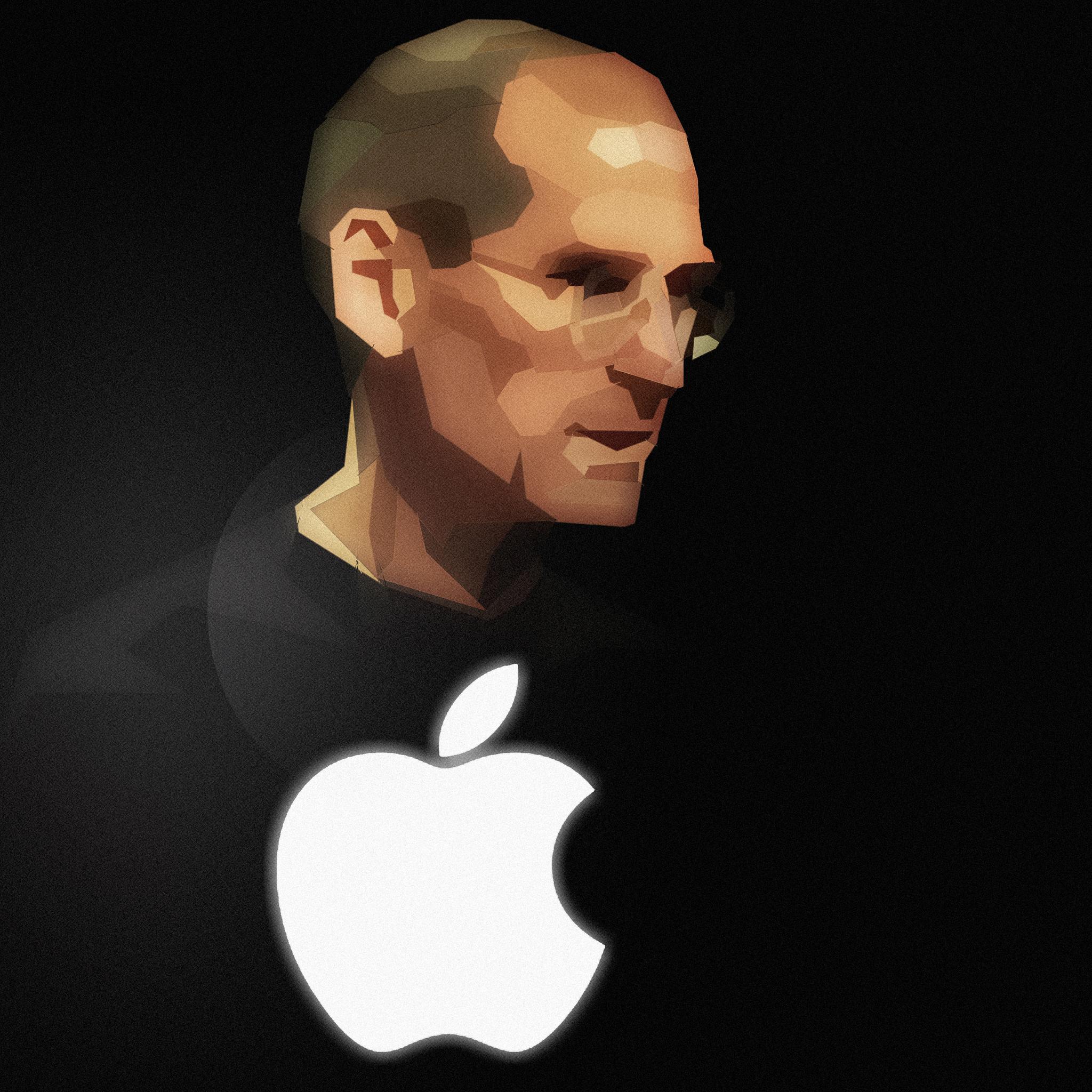 Steve Jobs Apple 3Wallpapers iPad Steve Jobs Apple   iPad