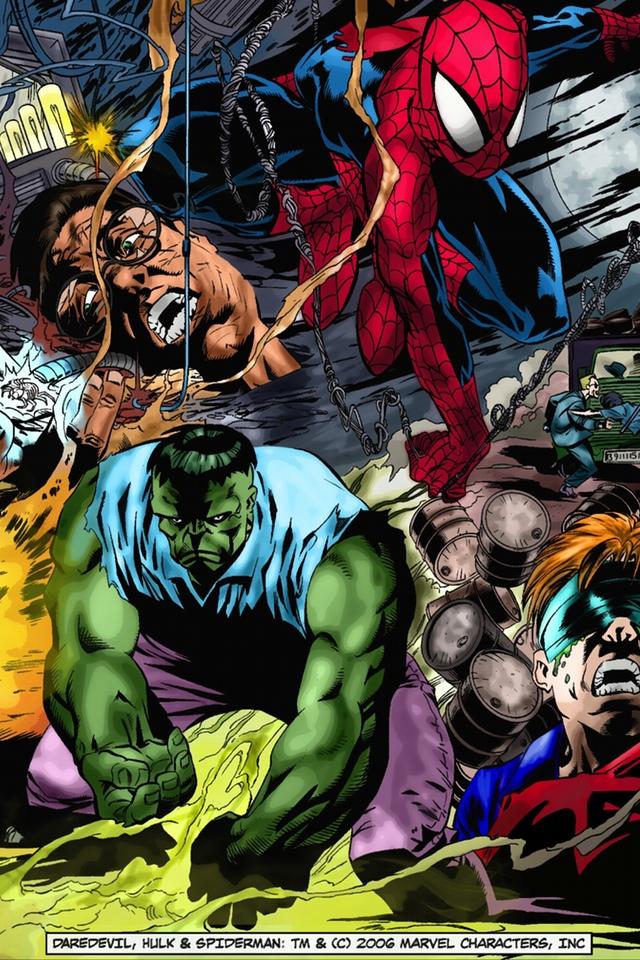 The Superhero Marvel Wallpaper for