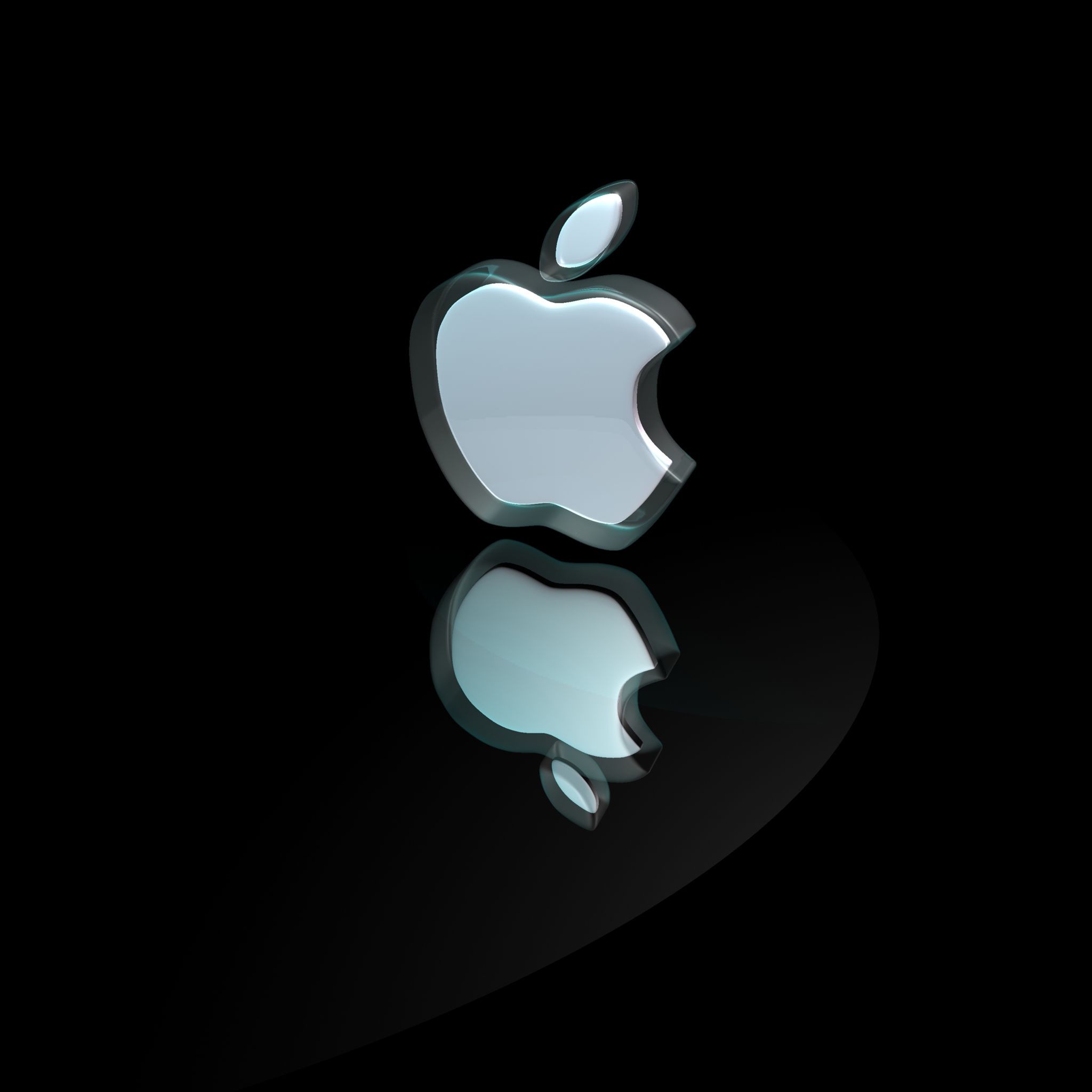 3D Apple 3Wallpapers iPad 3D Apple   iPad