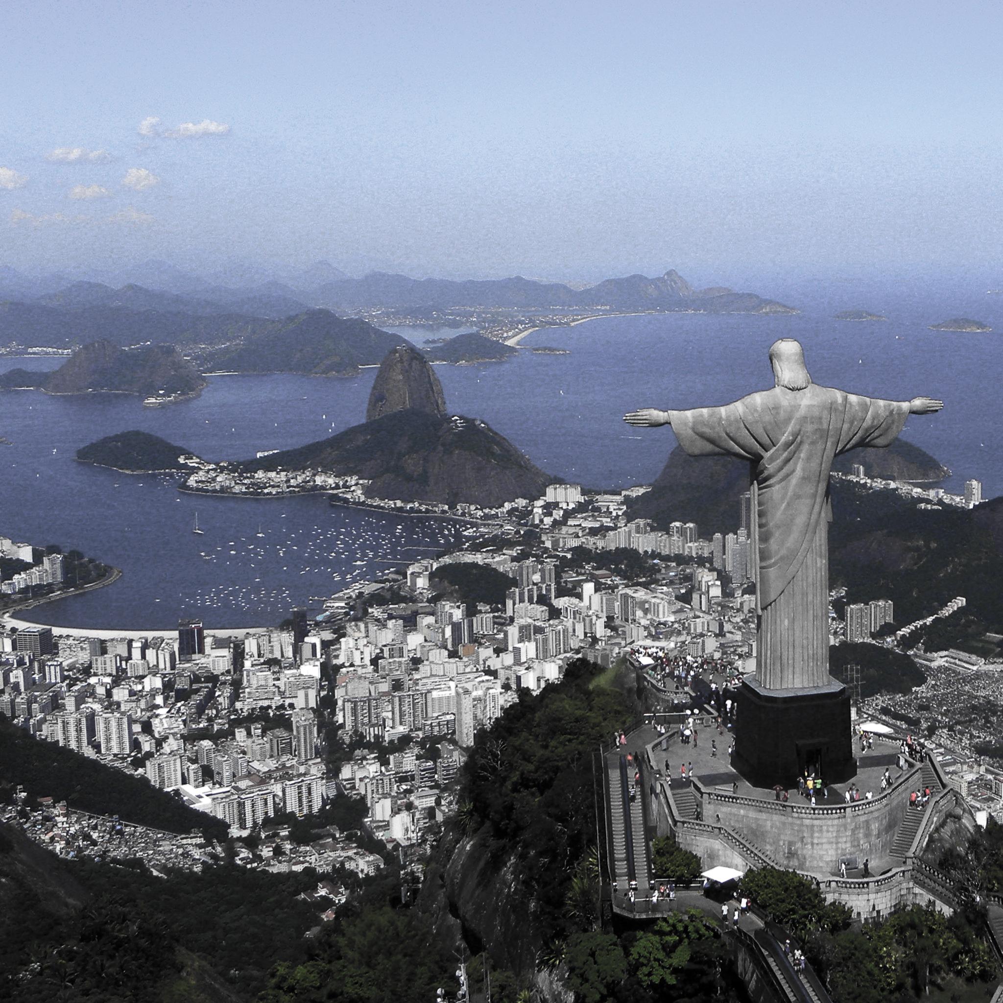 Christ on Corcovado Mountain 3Wallpapers iPad Christ on Corcovado Mountain   iPad