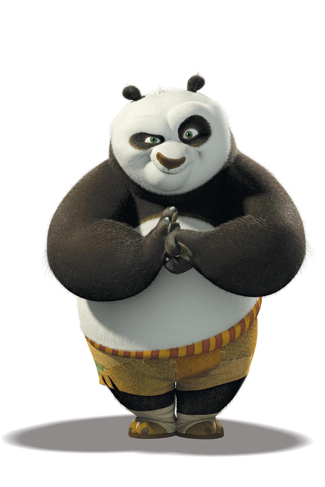 Kung Fu Panda 3Wallpapers Les 3 Wallpapers iPhone du jour (21/06/12)