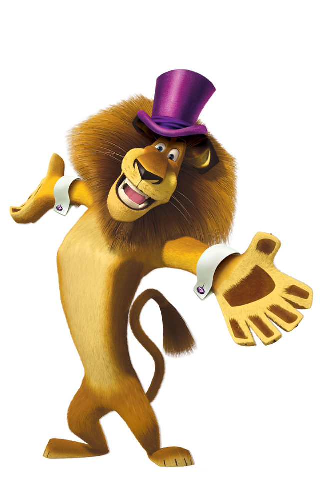 Lion Madagascar 3Wallpapers Les 3 Wallpapers iPhone du jour (21/06/12)
