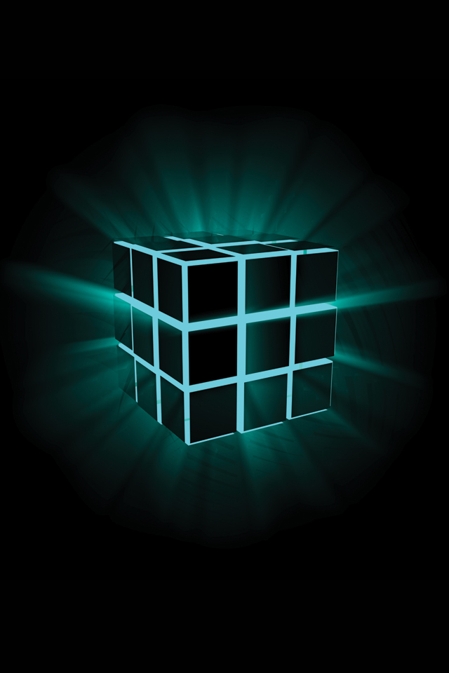 Luminar Cube 3Wallpapers Les 3 Wallpapers iPhone du jour (30/06/12)