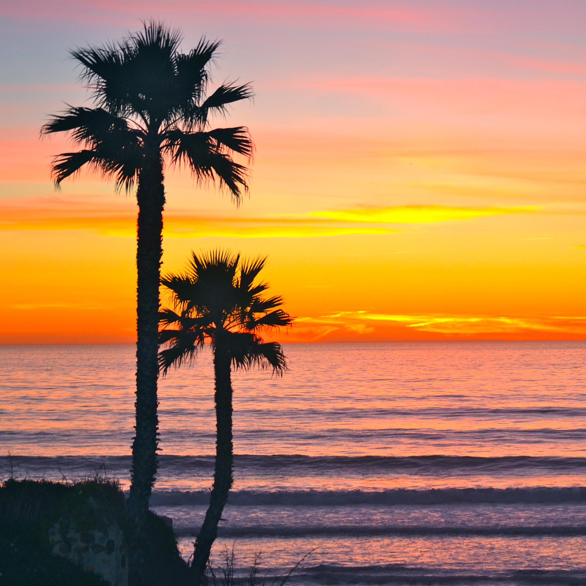 Ocean Sunset 3Wallpapers iPad Ocean Sunset   iPad