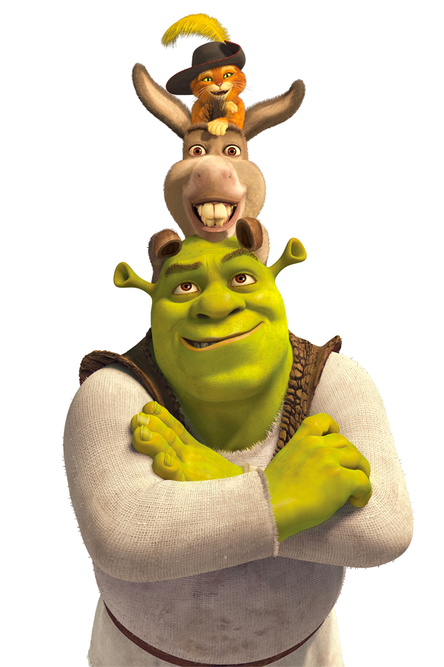 Shrek 3Wallpapers Les 3 Wallpapers iPhone du jour (21/06/12)