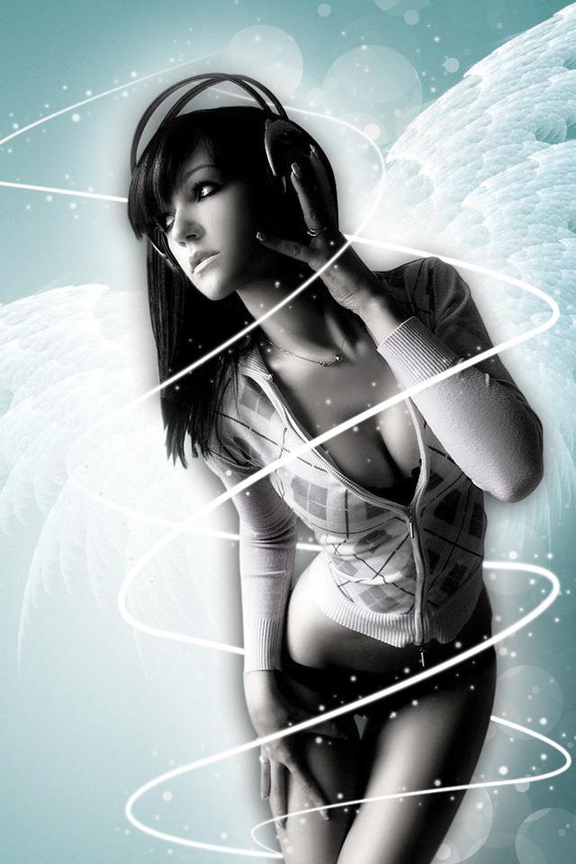 Angel-Girl-Music-3Wallpapers