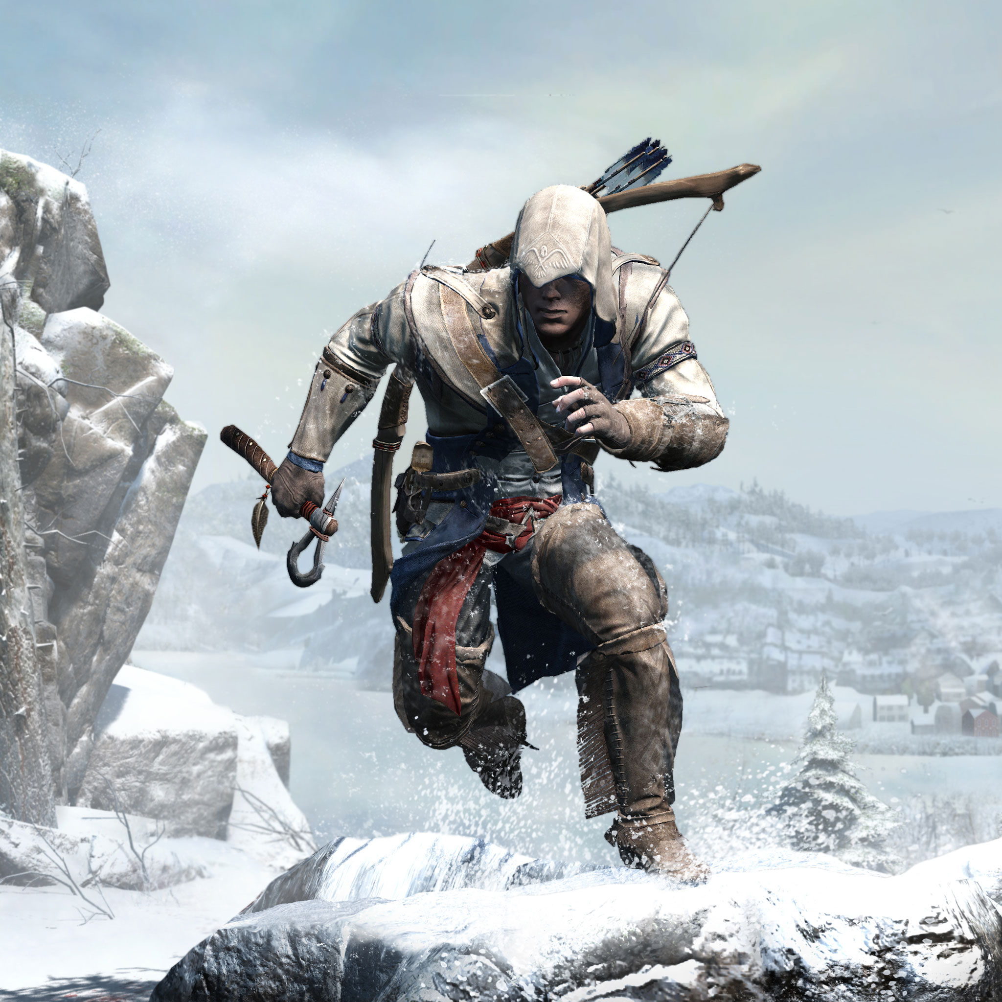 Assassins Creed 3 3Wallpapers iPad Assassins Creed 3   iPad