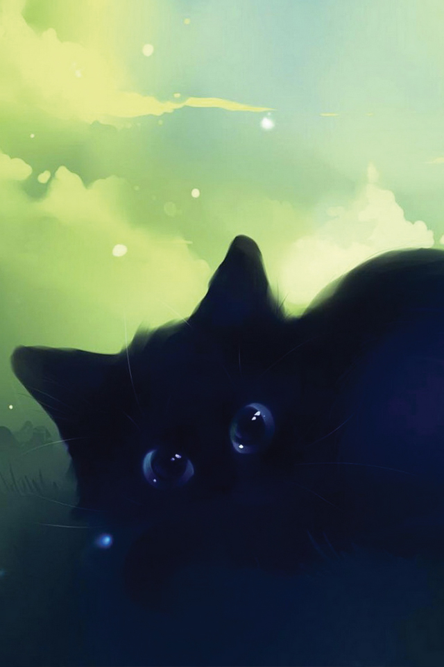 Eyes-Black-Cat-3Wallpapers
