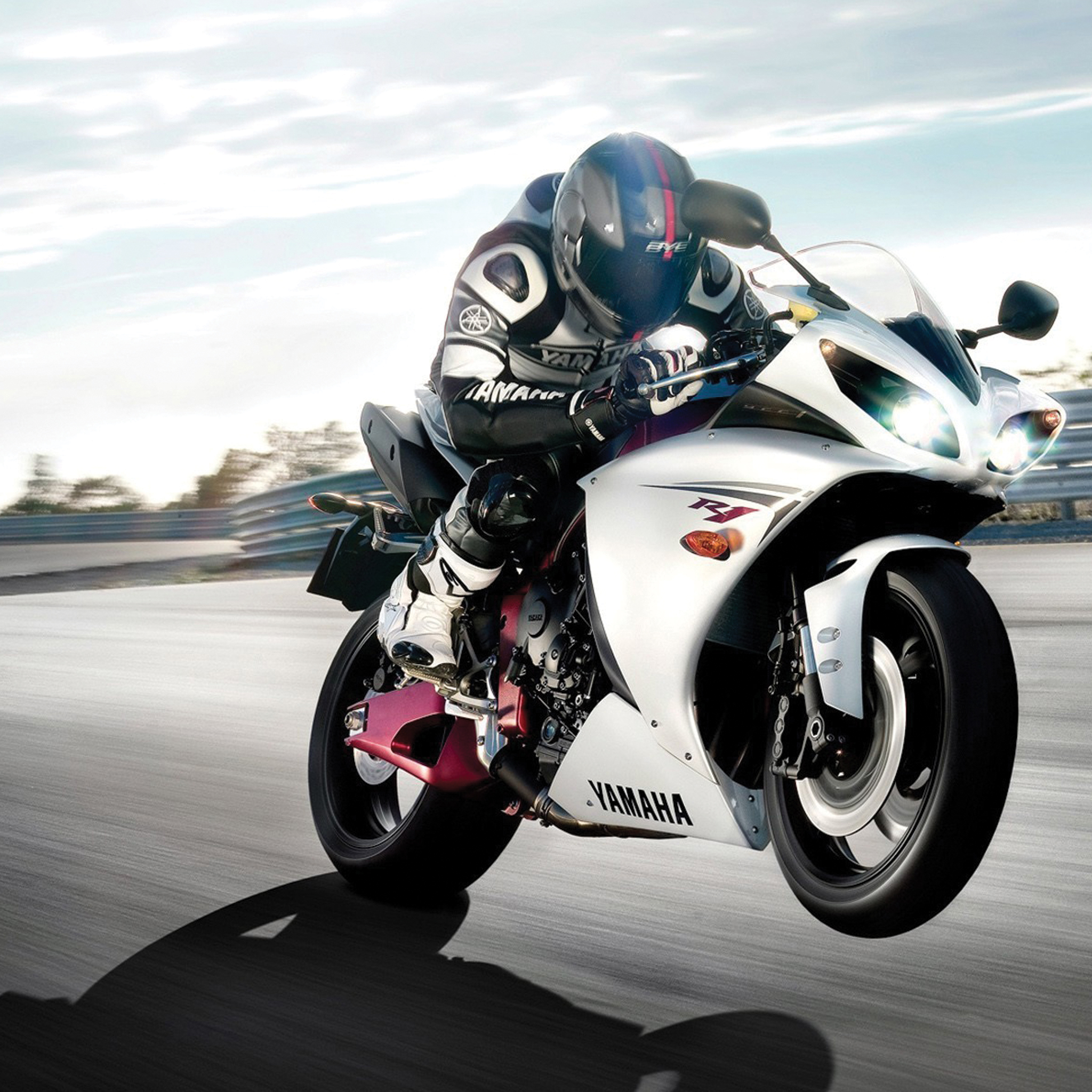 Yamaha Racer 3Wallpapers iPad Retina Yamaha Racer   iPad Retina