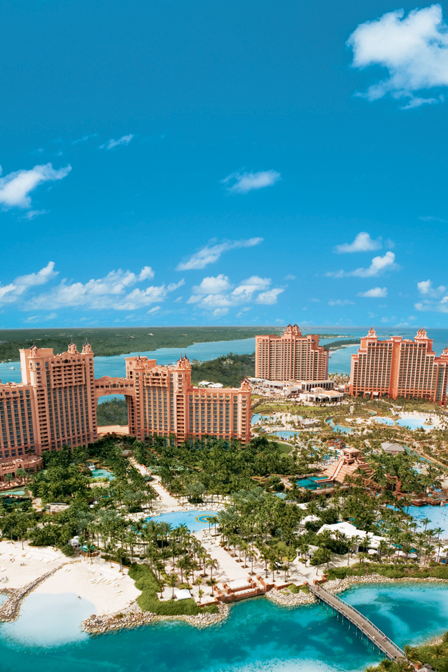 Atlantis Paradise Wallpaper For Iphone X 8 7 6 Free