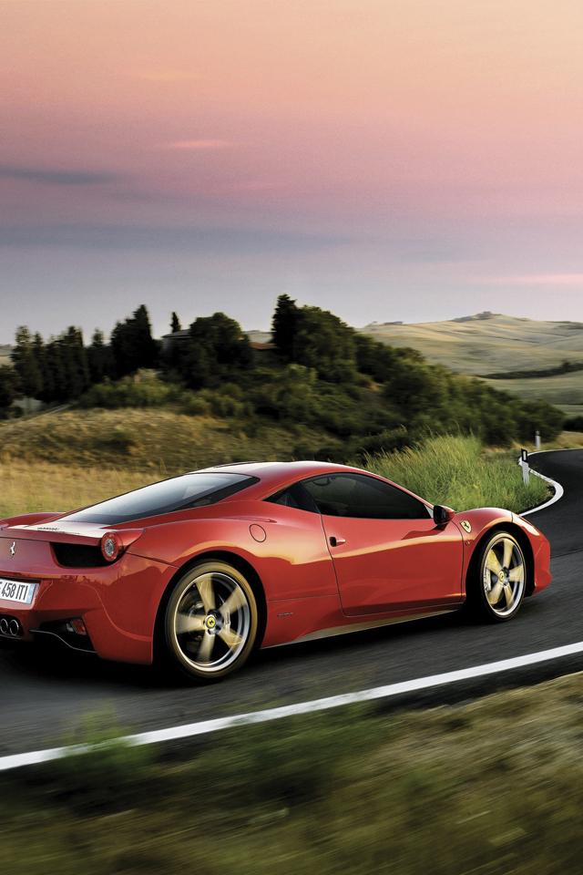 Ferrari 458 Italia Wallpaper for iPhone X, 8, 7, 6 - Free ...