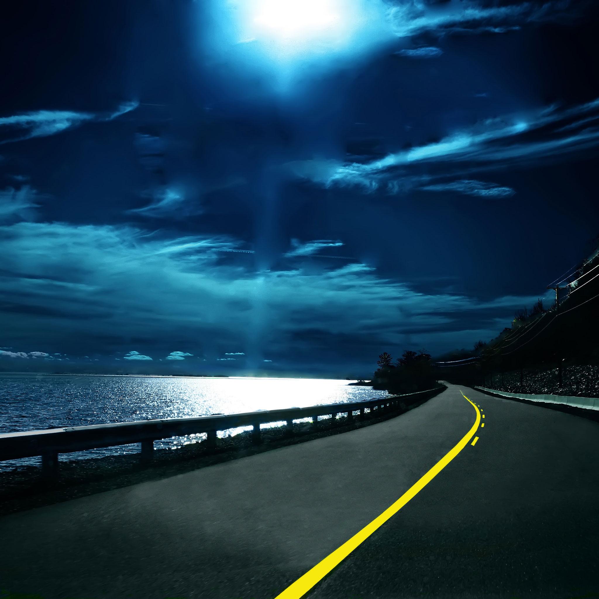 Highway-Nights-3Wallpapers-iPad-Retina