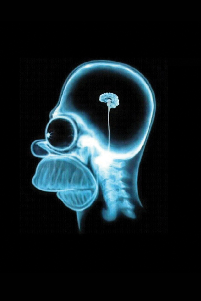 Homer Simpson Brain 3Wallpapers Homer Simpson Brain