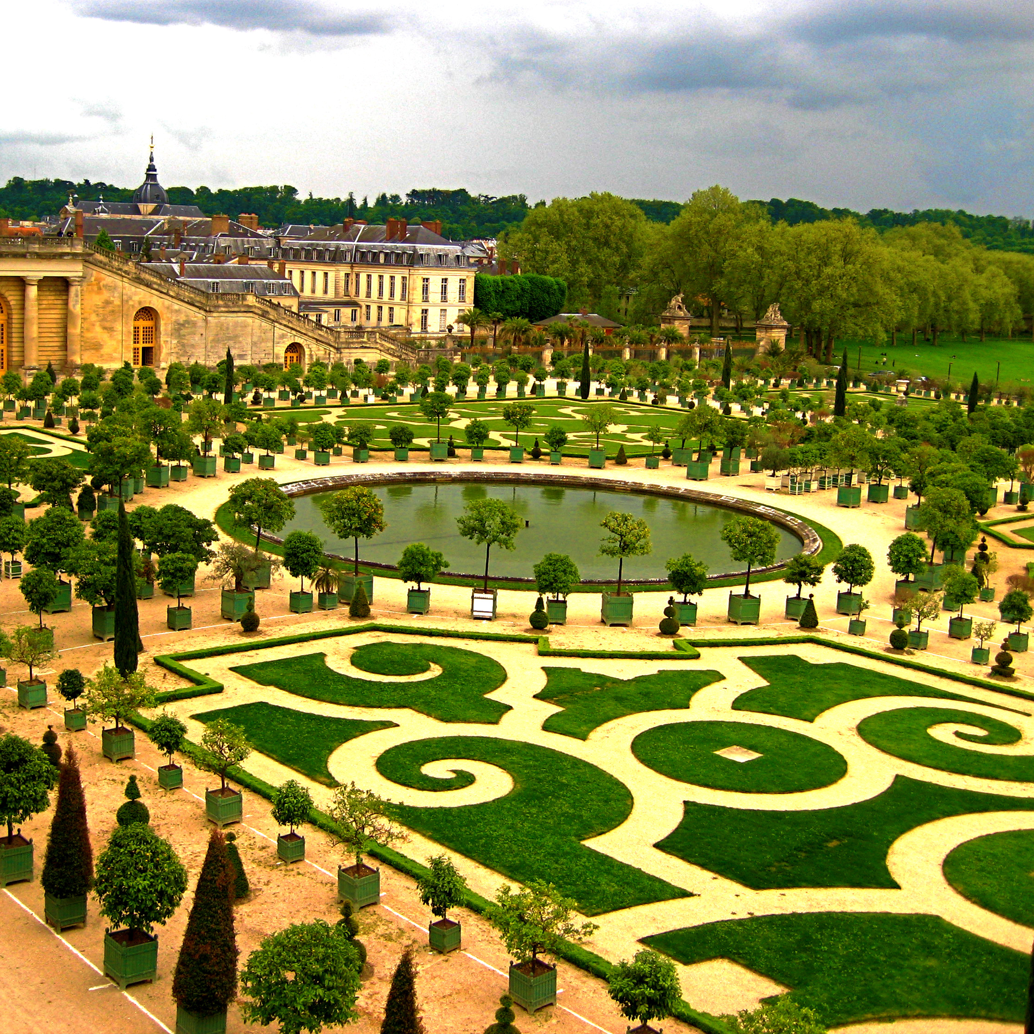 jardins de versailles ipad retina wallpaper for iphone x
