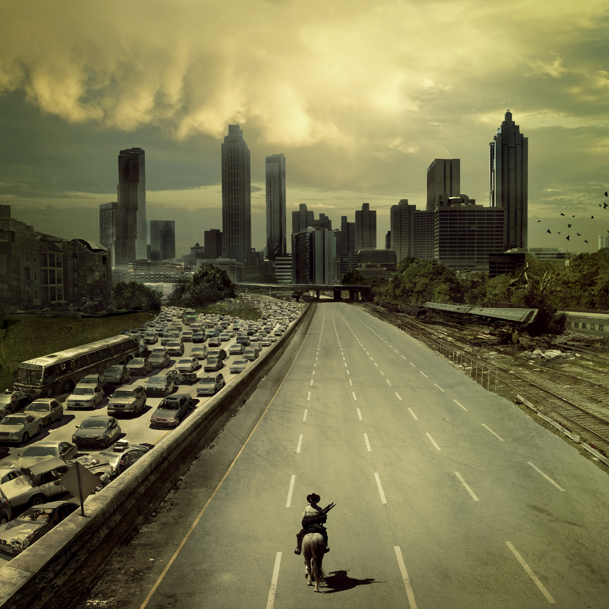 The Walking Dead 3Wallpapers iPad Retina The Walking Dead   iPad Retina