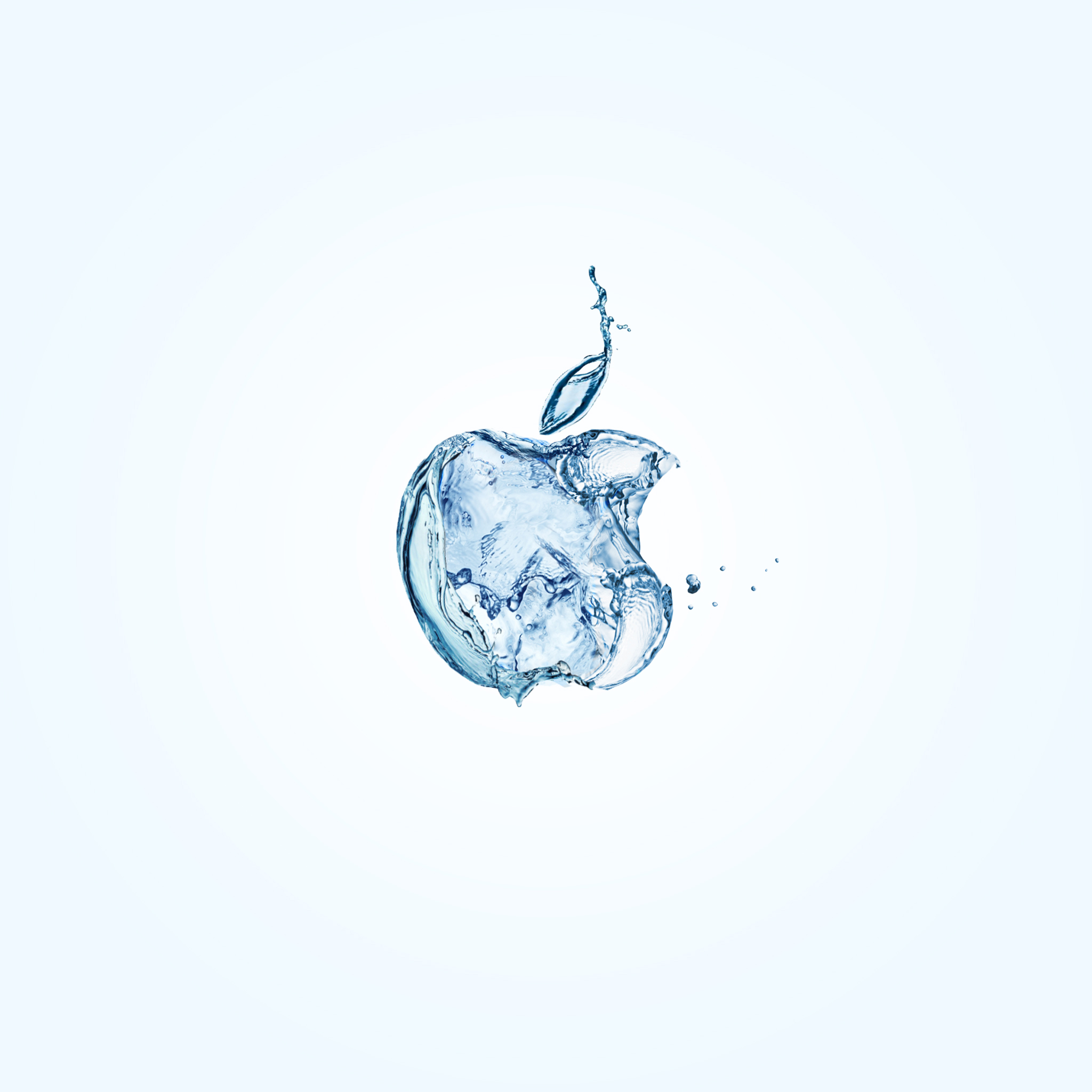 Water Apple 3Wallpapers iPad Retina Water Apple   iPad Retina