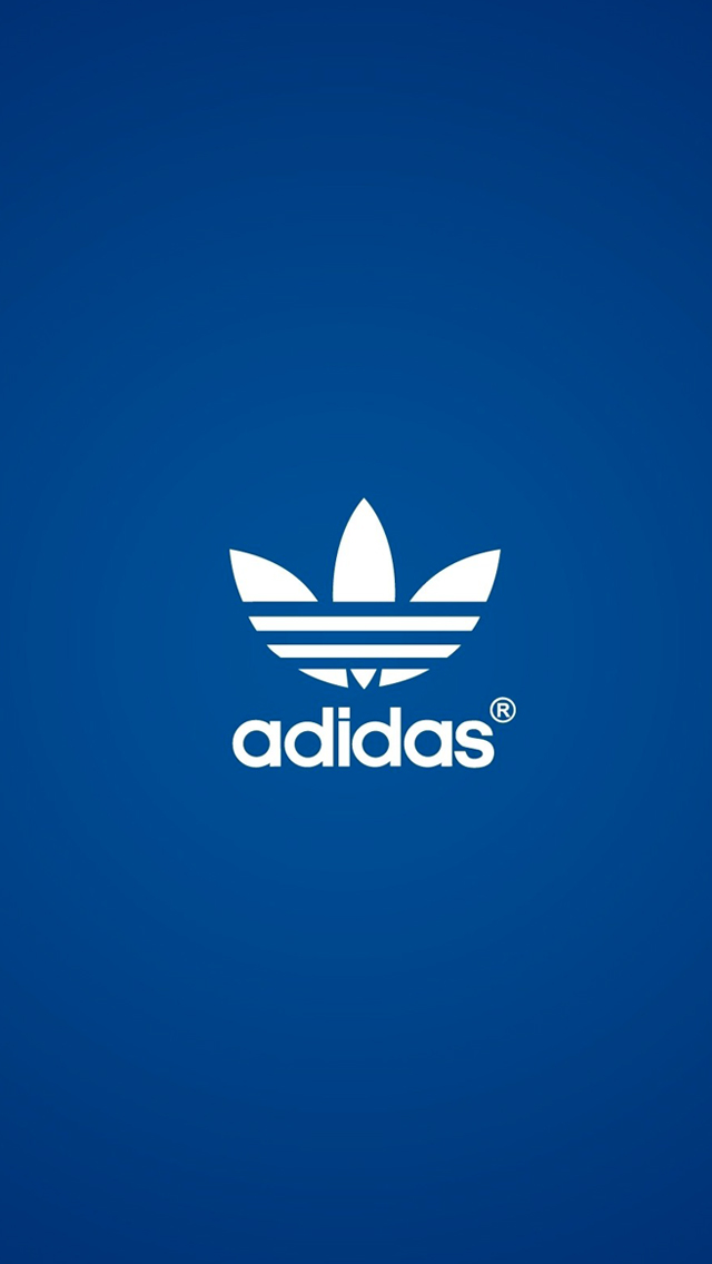 Adidas Blue 3Wallpapers iPhone 5 Adidas Blue