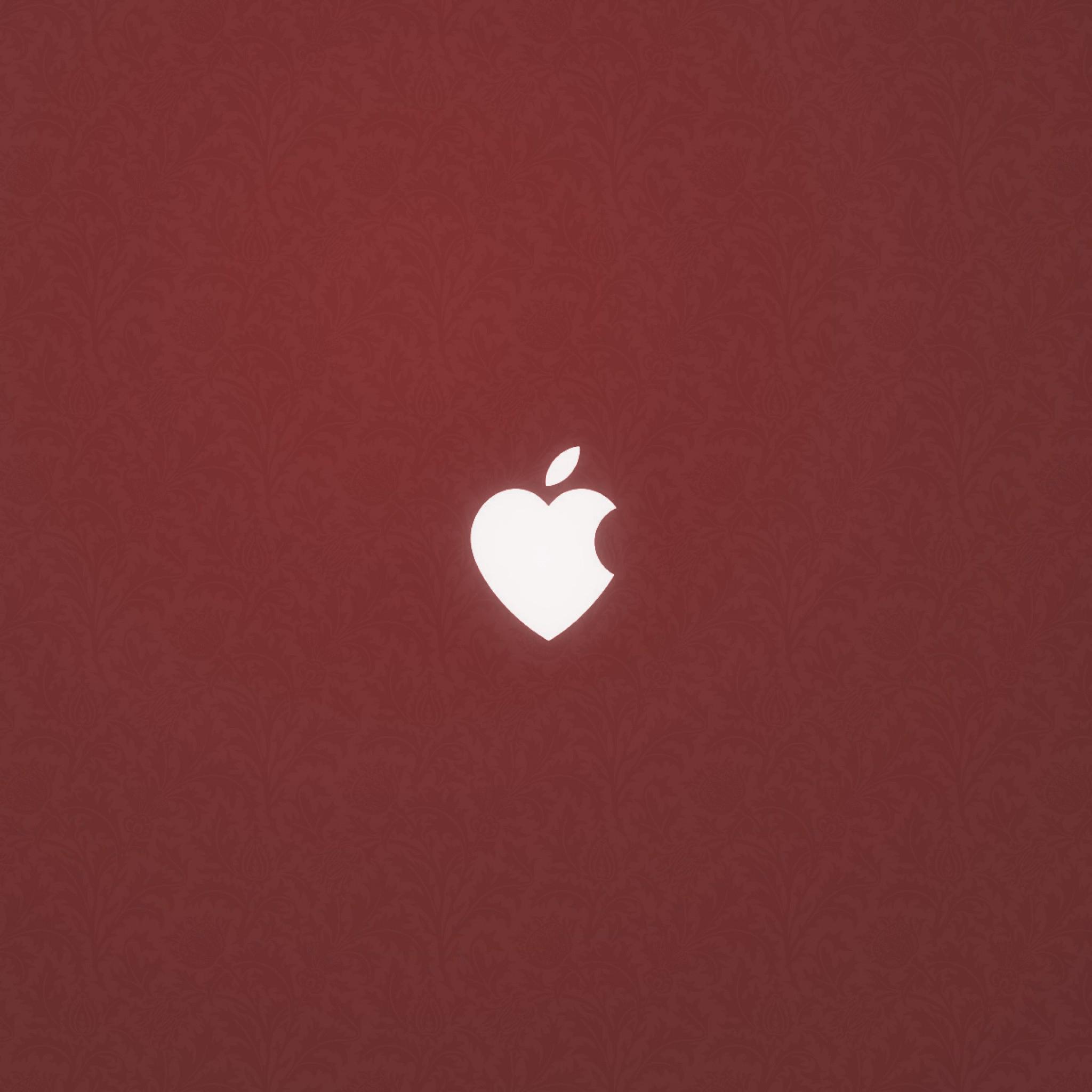 Apple Heart 3Wallpapers iPad Retina Apple Heart   iPad Retina
