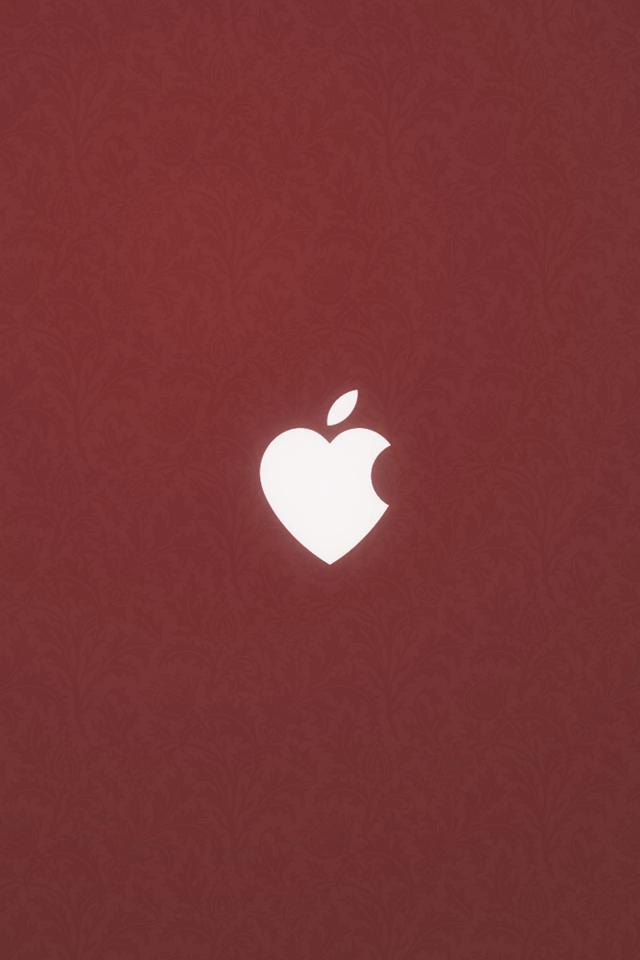 Apple Heart 3Wallpapers Apple Heart