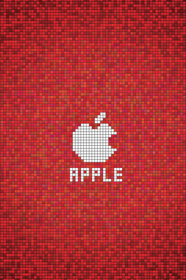 Apple-Red-Square-3Wallpapers