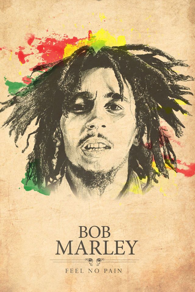 wallpaper hd iphone bob marley free download