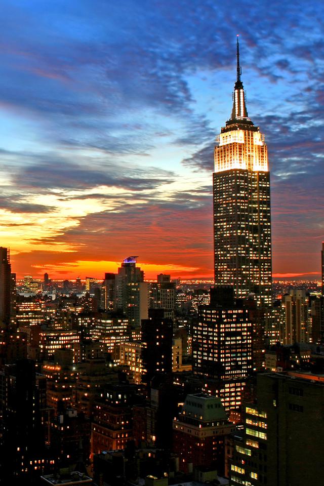 New York Sunset 3Wallpapers New York Sunset