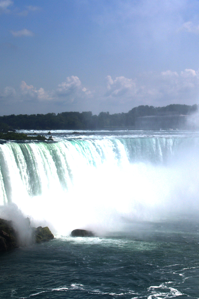 Niagara Falls Wallpaper For Iphone X 8 7 6 Free
