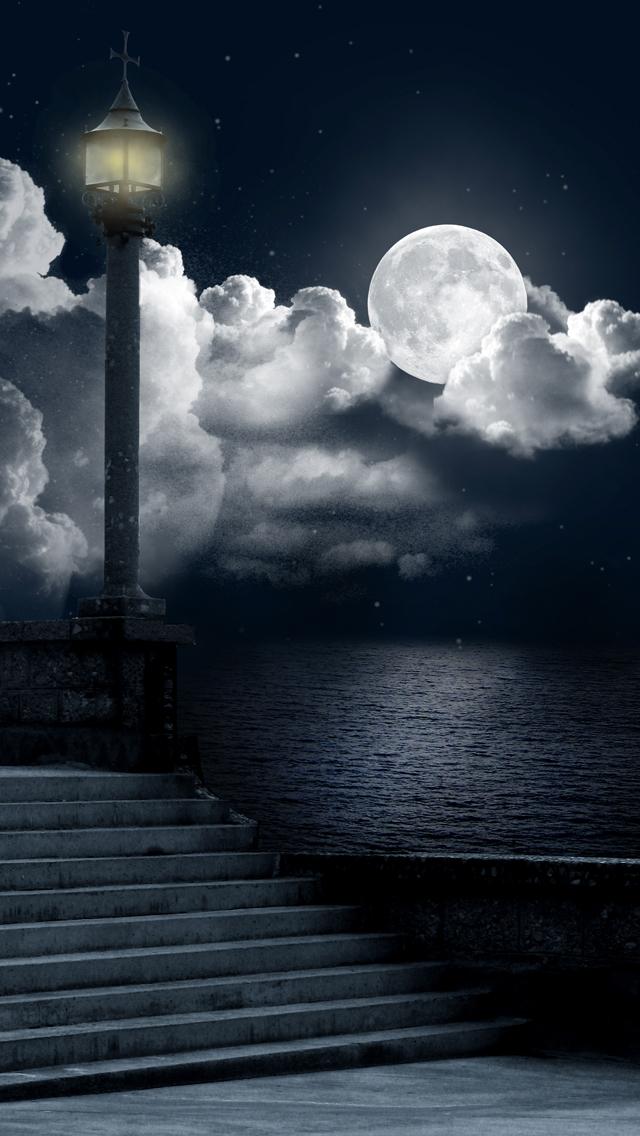 Night Sky 3Wallpapers iPhone 5 Night Sky