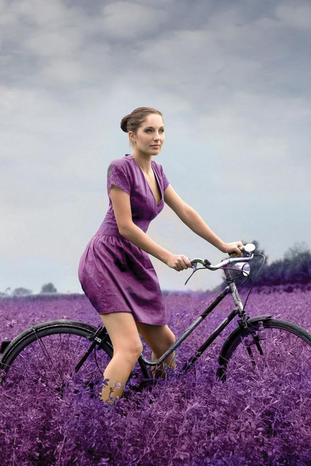 Purple Woman 3Wallpapers Purple Woman