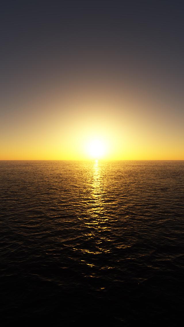 Sunrise 3Wallpapers iPhone 5 Sunrise