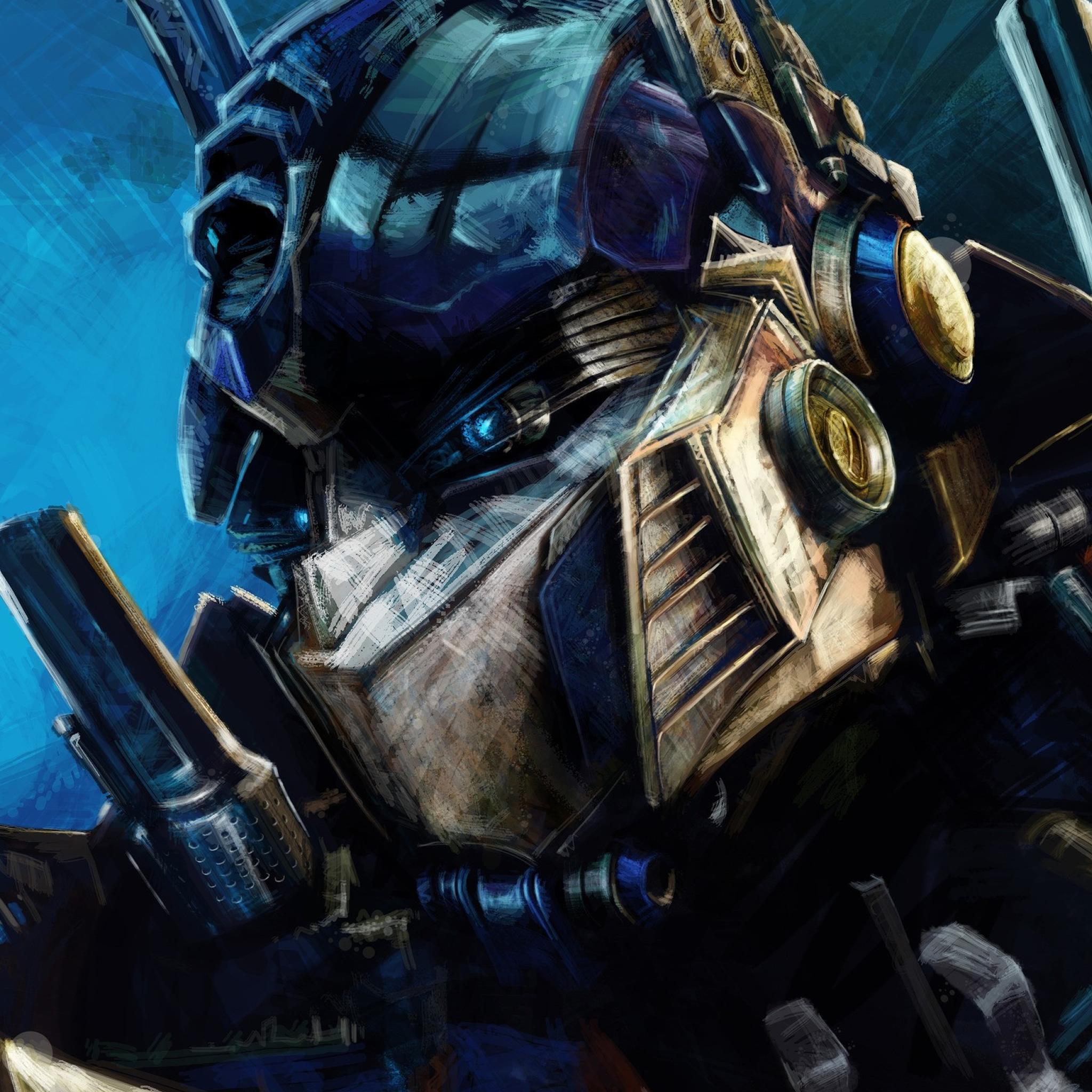Transformers-Painting-3Wallpapers-iPad-Retina