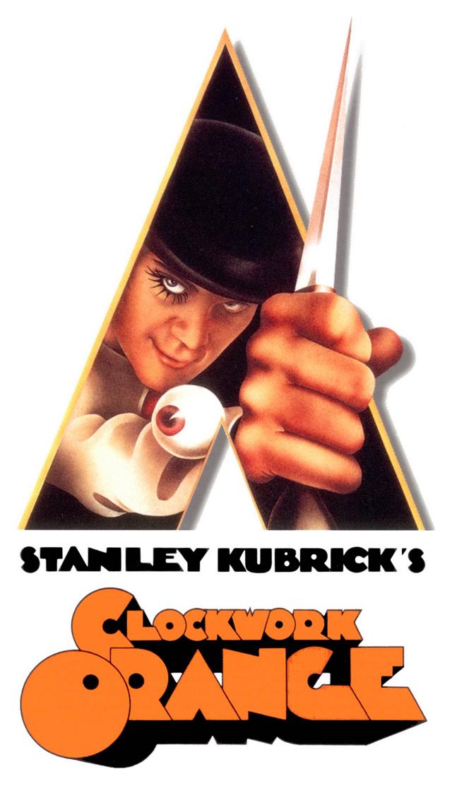 A Clockwork Orange 1971 3Wallpapers iPhone 5 A Clockwork Orange   1971 (Stanley Kubrick)