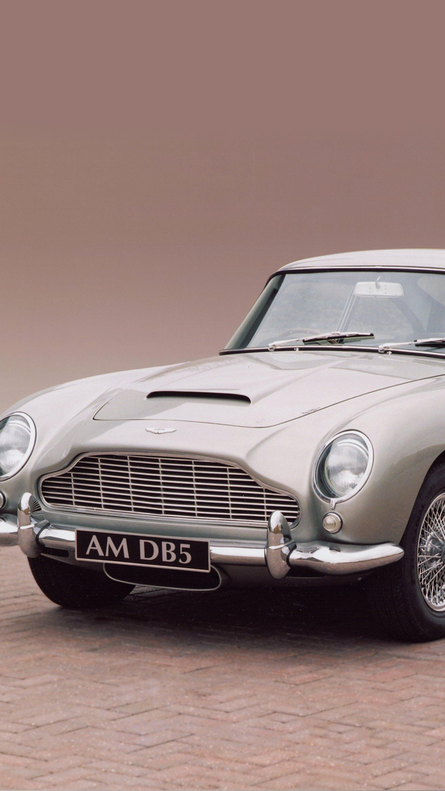 Aston Martin DB5 3Wallpapers iPhone 5 Aston Martin DB5