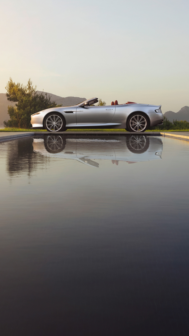Aston Martin DB9 3Wallpapers iPhone 5 Aston Martin DB9