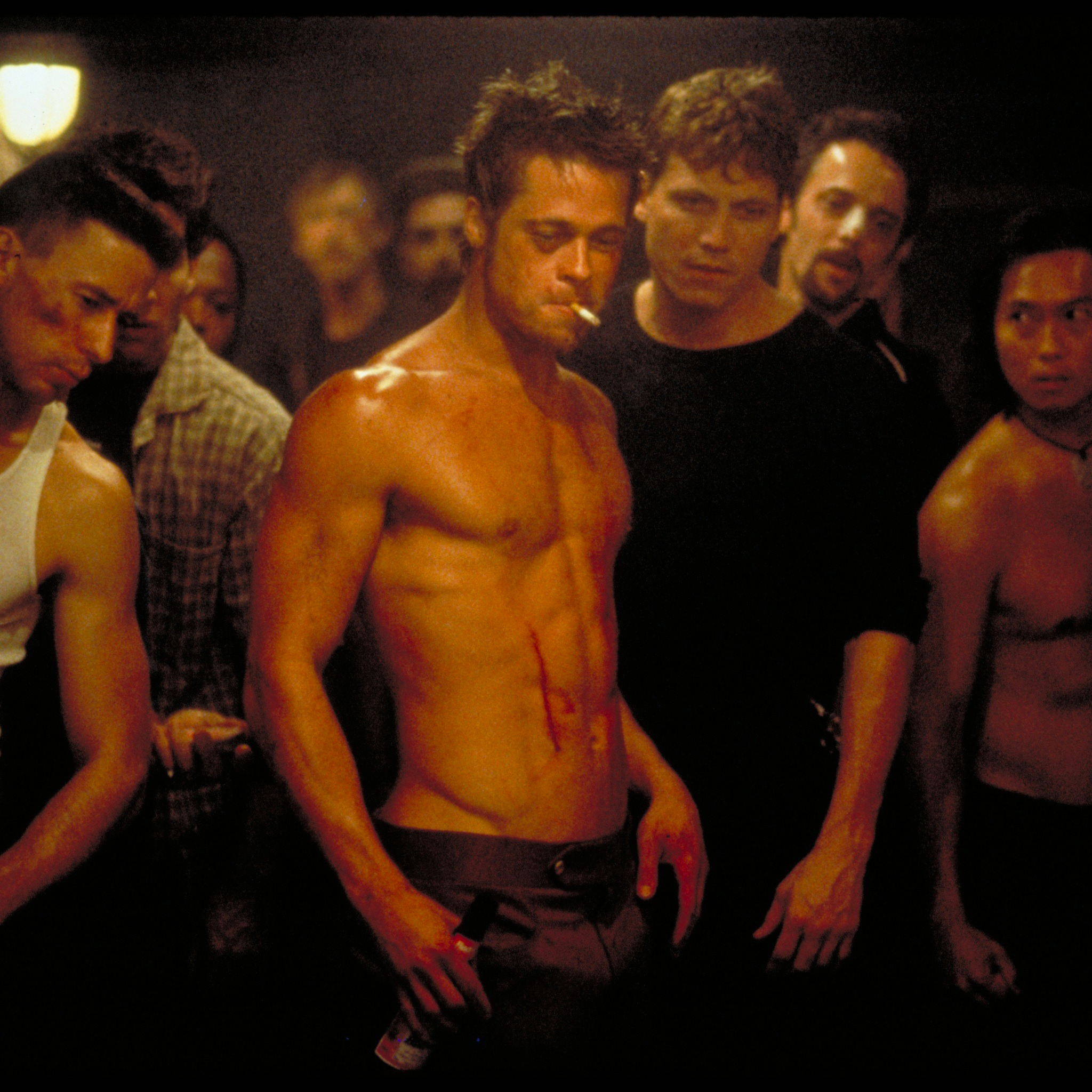 Brad Pitt Fight Club 3Wallpapers iPad Retina Brad Pitt   Fight Club   iPad Retina