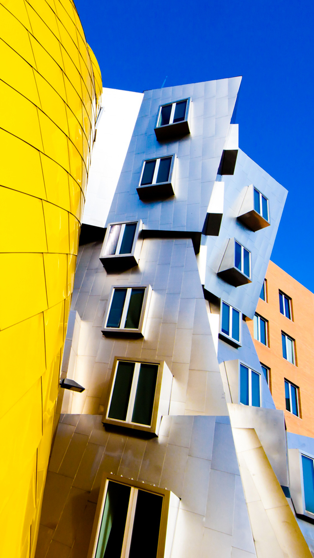 Frank Gehry Architecture 3Wallpapers iPhone  Frank Gehry Architecture