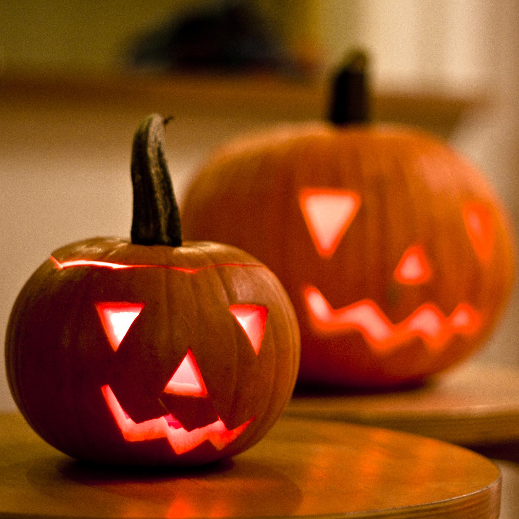 Halloween Pumpkins 3Wallpapers iPad Retina Halloween Pumpkins   iPad Retina
