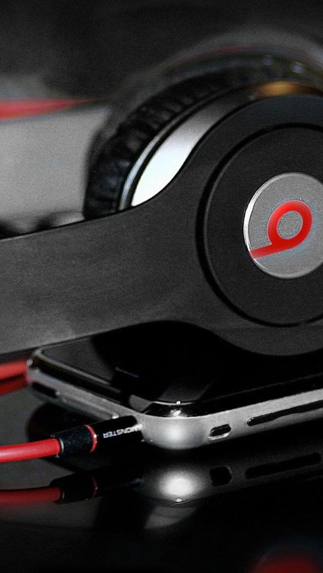 Headphones-Beats-3Wallpapers-iPhone-5